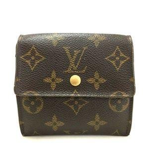 Auth Louis Vuitton Portefeiulle Elise #1132L58